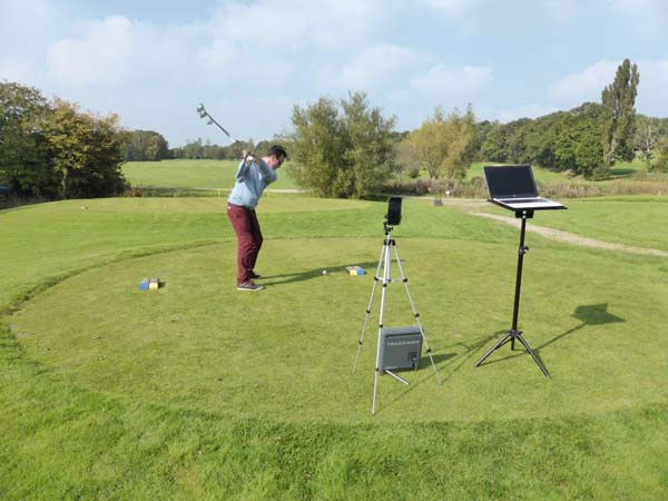TrackMan Technology at work on the golf course